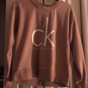 Pink Calvin Klein sweater